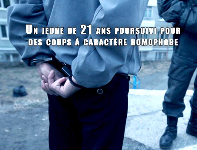 TC Liège – Un jeune de 21 ans poursuivi pour des coups à caractère homophobe