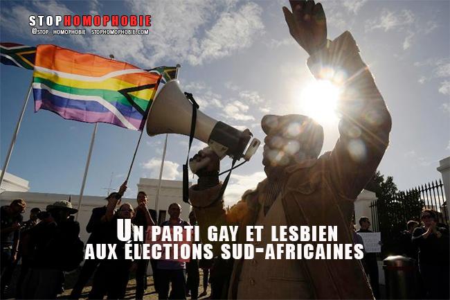 Un parti gay et lesbien aux élections sud-africaines