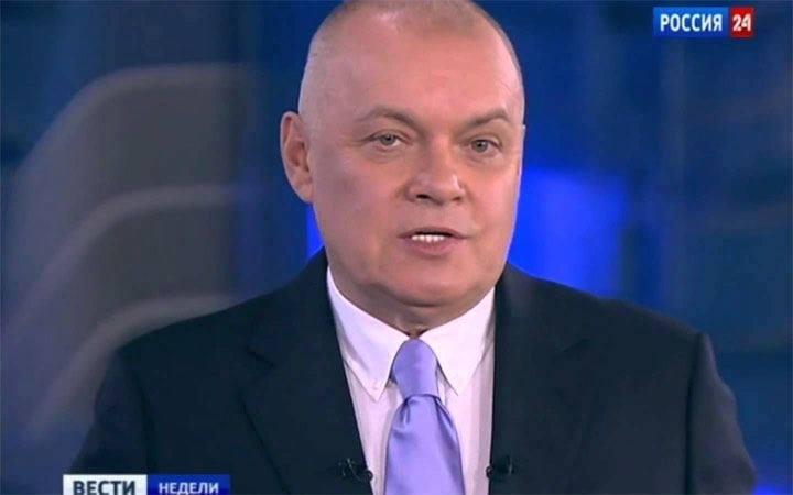 Crise ukrainienne : Colère d'un présentateur russe pro-Poutine et homophobe sanctionné par l'UE