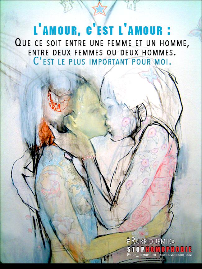 """#Rubriquemika Entretien avec Julie, 19 ans vivant avec sa mère et son beau-père : """"L'amour, c'est l'amour"""""""