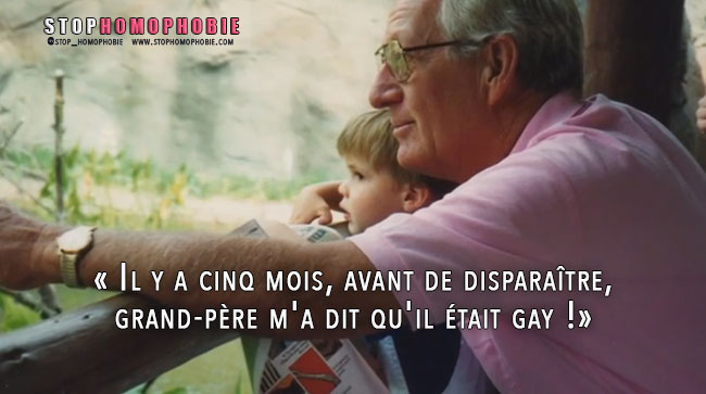 A 90 ans, il dévoile son homosexualité à son petit-fils