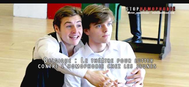 Belgique : Le théâtre pour lutter contre l'#homophobie chez les jeunes