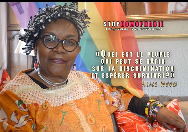 Cameroun : l'avocate Alice Nkom dénonce un «apartheid anti-homosexuels»