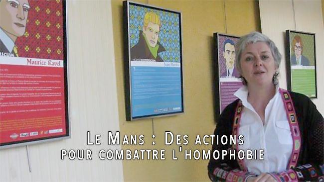 Le Mans : Des actions pour combattre l'#homophobie