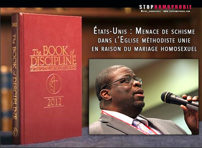 États-Unis : Menace de schisme dans l'Église méthodiste unie en raison du mariage entre personnes de même sexe