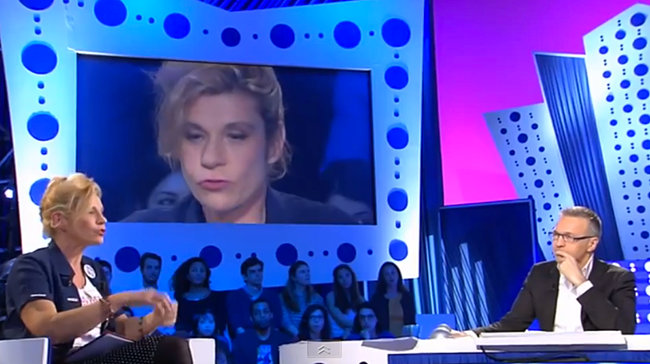 Frigide Barjot sur France 2 : entre élan mystique et mémoire tampon
