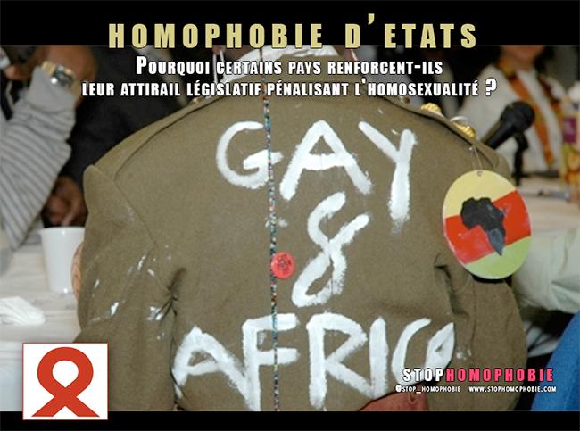 Homophobie d'Etats : des pays d'Afrique en pleine dérive