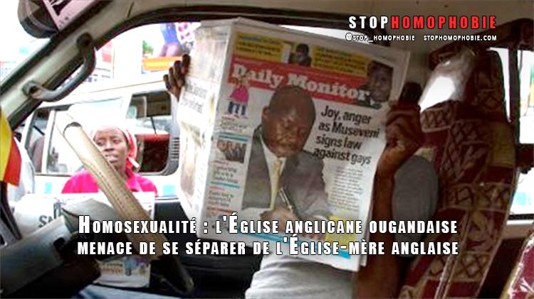 #Homosexualité: l'Église anglicane ougandaise menace de se séparer de l'Église d'Angleterre