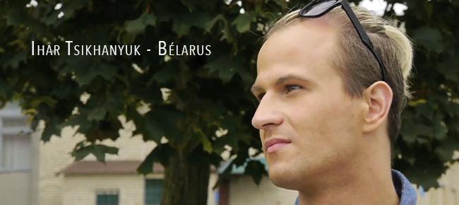 #Reportage #Bélarus : un an après son agression, Ihar Tsikhanyuk, militant homosexuel continue à réclamer justice