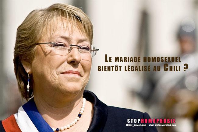 Grande manifestation et réformes : Le mariage pour les couples homosexuels bientôt légalisé au Chili ?