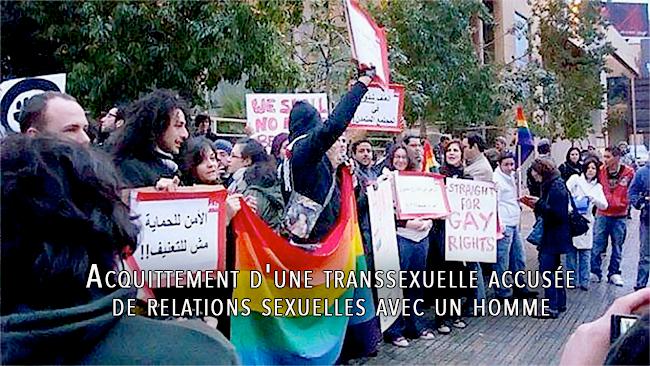Liban : Acquittement d'une transsexuelle accusée de relations sexuelles avec un homme