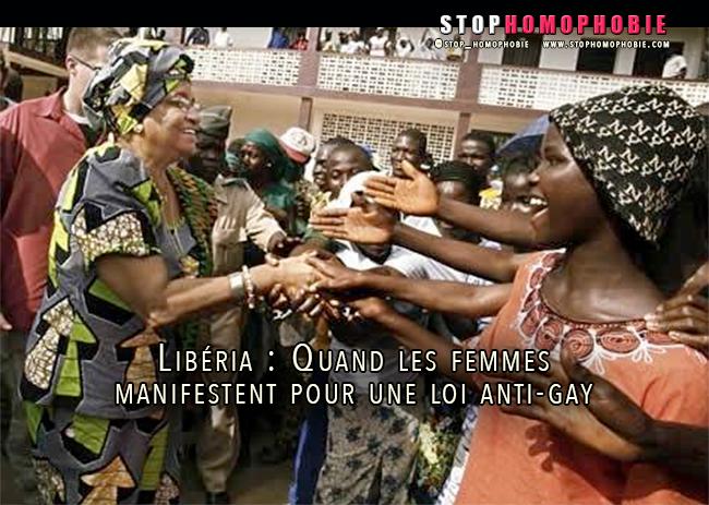 Liberia : Quand un groupe de défense des droits des femmes manifeste pour l'adoption d'une loi anti-gay