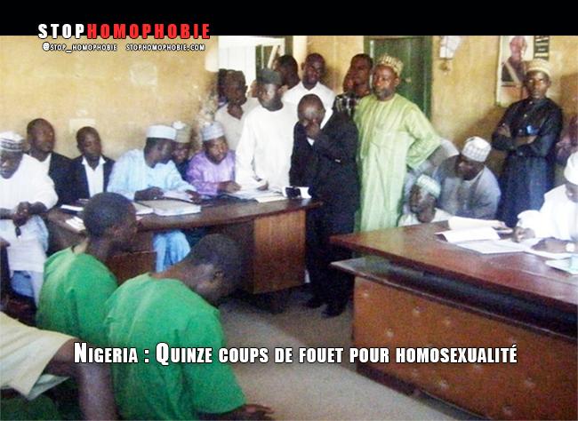 #Nigeria : Quinze coups de fouet pour #homosexualité