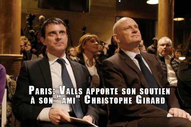 Municipales Paris : Manuel Valls soutient la candidature de Christophe Girard à la mairie du IVe arrondissement