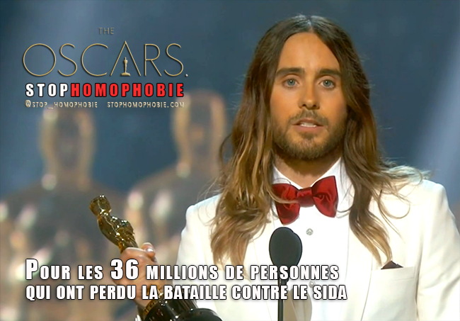 Oscars2014 : Jared Leto décroche son premier #Oscar pour son rôle de travesti dans Dallas Buyers Club