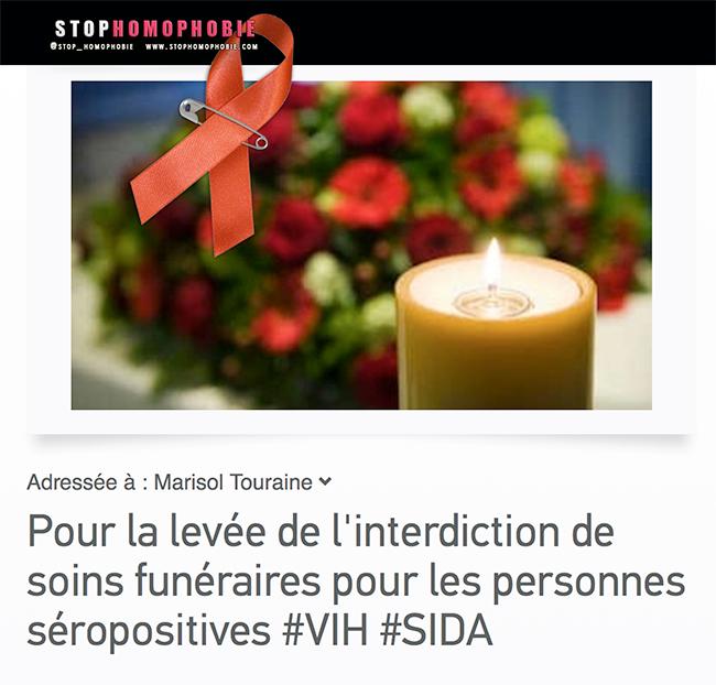 COMMUNIQUE DE PRESSE de l'Inter-LGBT : Soins funéraires, discriminé-e-s à mort