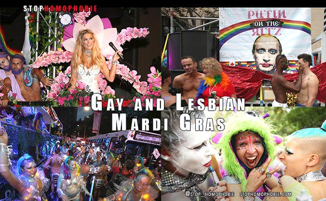 """Festival annuel du """"Mardi Gras"""" de #Sydney pour une célébration de l'#égalité"""