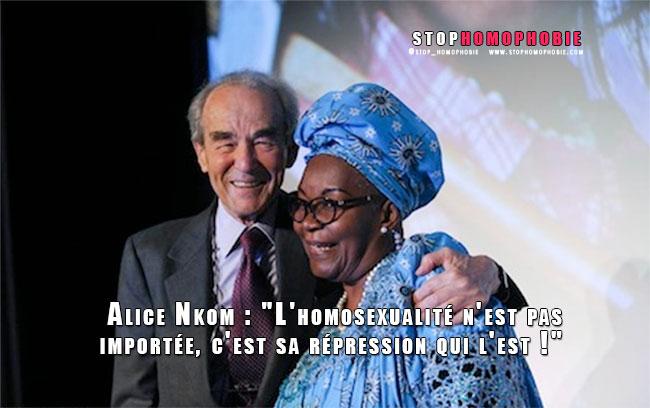 """Alice Nkom : """"L'homosexualité n'est pas importée, c'est sa répression qui l'est !"""""""