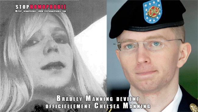 WikiLeaks : Bradley Manning devient légalement Chelsea Manning