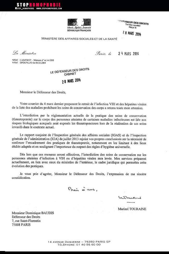 Discrimination : Levée de l'interdiction de soins funéraires pour les personnes séropositives !
