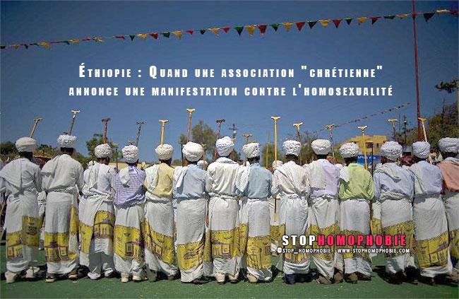 """Éthiopie : Quand une association qui se définit comme """"chrétienne"""" annonce une manifestation contre l'homosexualité"""