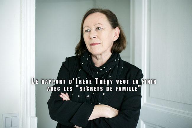 """Le rapport d'Irène Théry veut en finir avec les """"secrets de famille"""""""