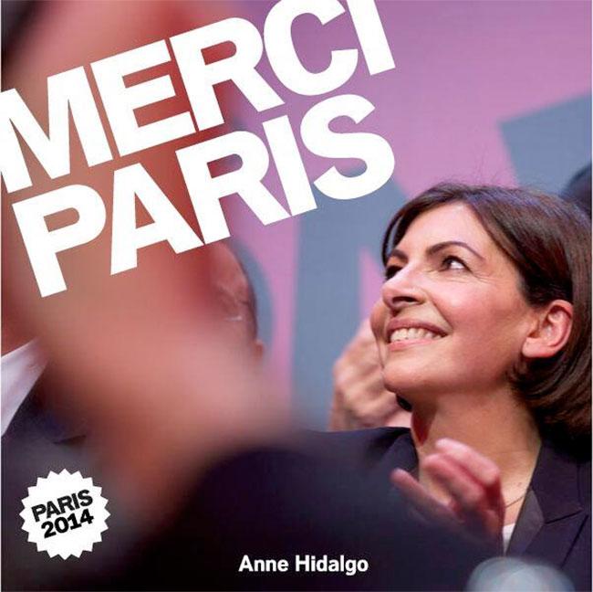 Municipales : Anne Hidalgo première femme maire de Paris
