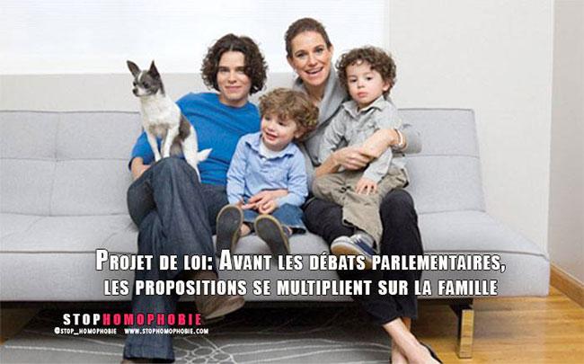Famille : Ouverture de la PMA aux couples de femmes, interdiction de la fessée, liberté de religion à 13 ans...