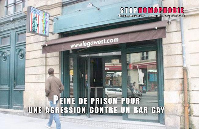 Bordeaux : Peine de prison pour une agression contre un bar gay sur fond de manifestations autour du Mariage pour tous