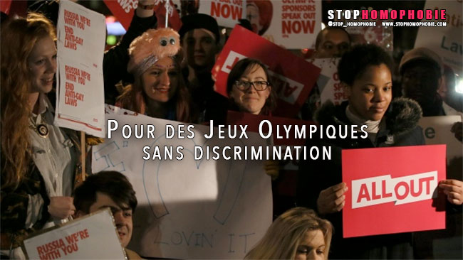 ALLOUT : Pour des Jeux Olympiques sans discrimination