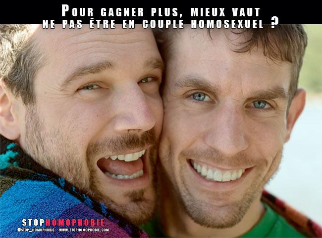 #Discrimination #Salaires : Pour gagner plus, mieux vaut ne pas être en couple homosexuel