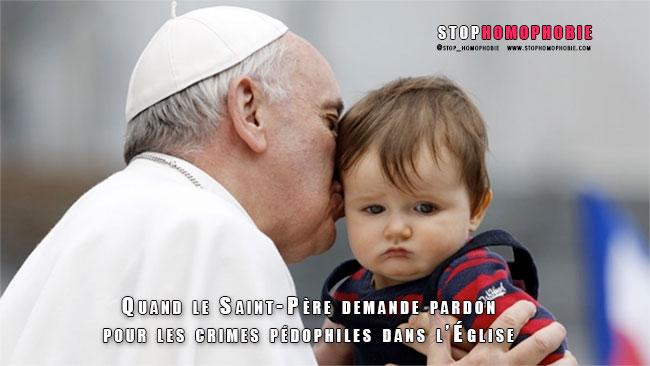 Quand le Saint-Père demande pardon pour les crimes pédophiles dans l'Église
