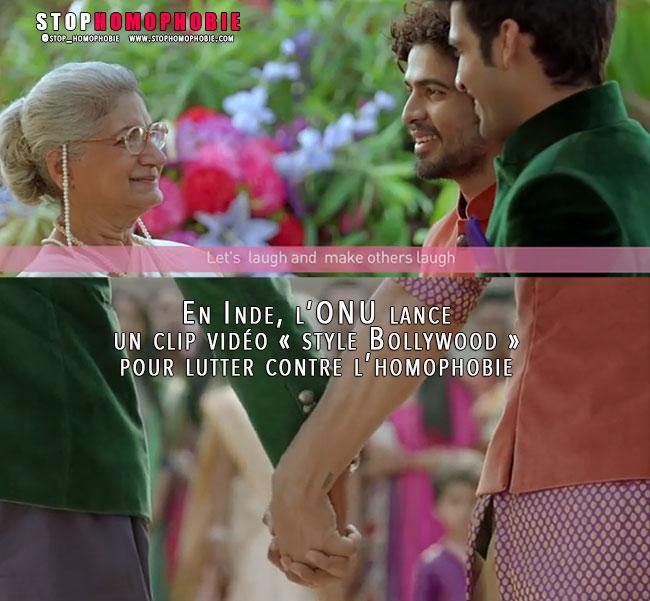 En Inde, l'ONU lance un clip vidéo « style Bollywood » pour lutter contre l'homophobie