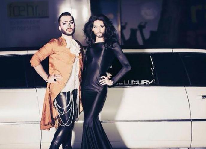 Eurovision : Conchita Wurst, la drag queen qui divise l'Autriche