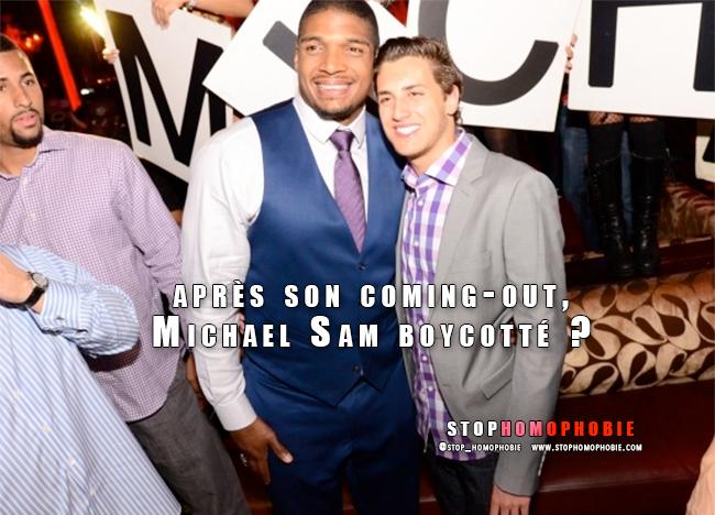 Un lobby évangéliste pousse pour que Michael Sam, premier joueur ouvertement homosexuel de NFL, soit boycotté
