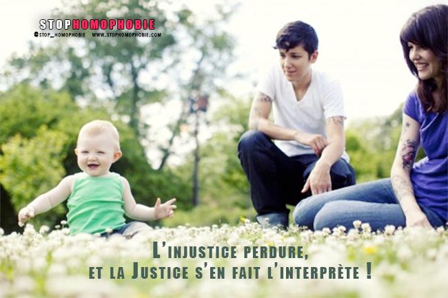 L'injustice perdure, et la Justice s'en fait l'interprète !