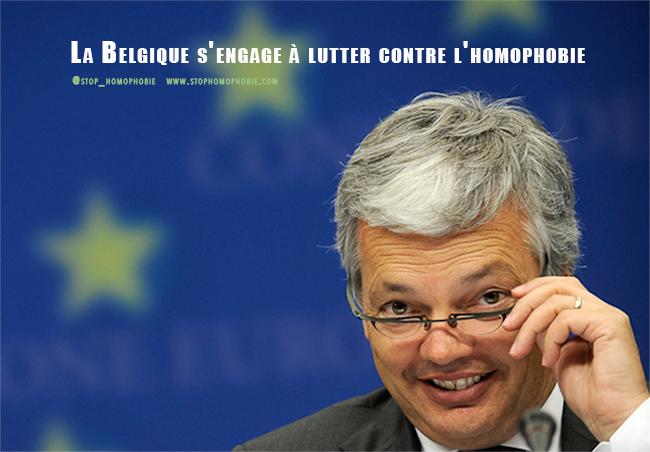 La Belgique s'engage à lutter contre l'homophobie