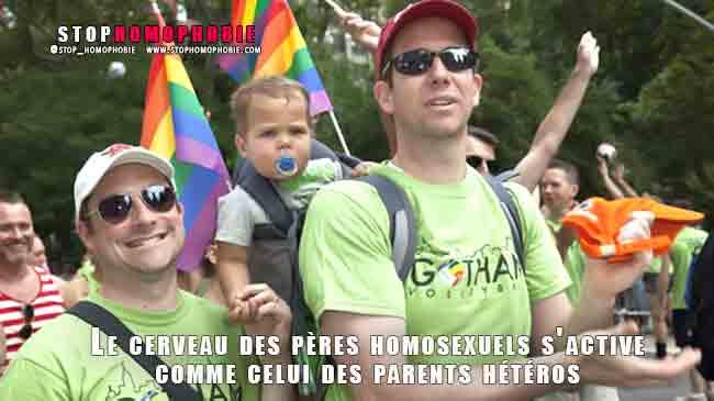 Le saviez-vous ? Le cerveau des pères homosexuels s'active comme celui des parents hétéros !