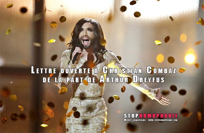 """Polémique : Conchita Wurst vous """"révulse"""", cher M. Combaz ?"""