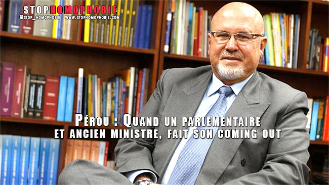 Pérou : Quand un parlementaire et ancien ministre, fait son coming out