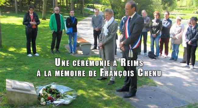 Reims : Une cérémonie à la mémoire de François Chenu, assassiné en septembre 2002, parce qu'il était homosexuel