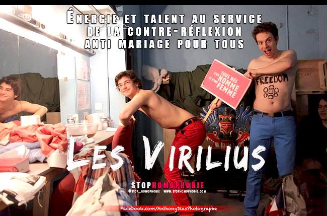 @LesVirilius : Énergie et talent au service de la contre-réflexion anti mariage pour tous
