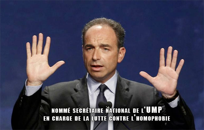 Emmanuel Blanc, nommé secrétaire national de l'UMP en charge de la lutte contre l'homophobie