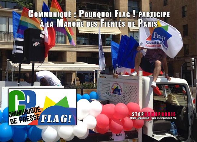 Treize ans après sa création, @flagasso ! participera une nouvelle fois à la Marche des Fiertés de Paris