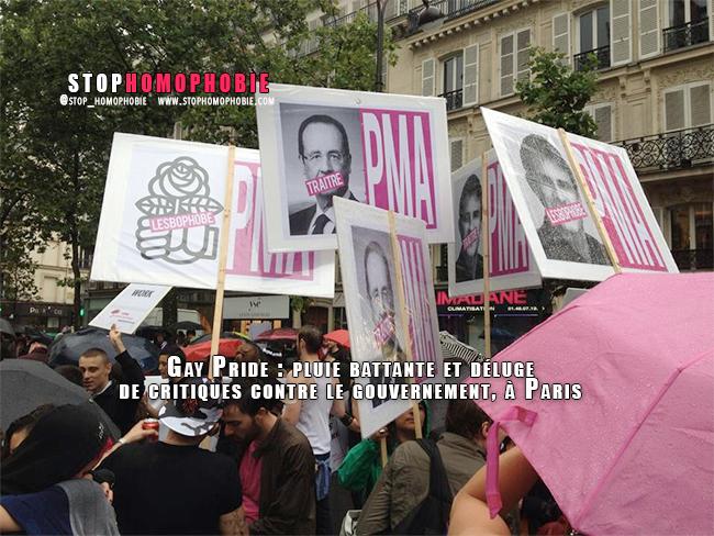 VIDEO. Gay Pride : pluie battante et déluge de critiques contre le gouvernement, à Paris