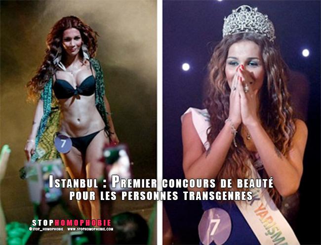 Turquie : La première personne transgenre à être couronnée reine de beauté