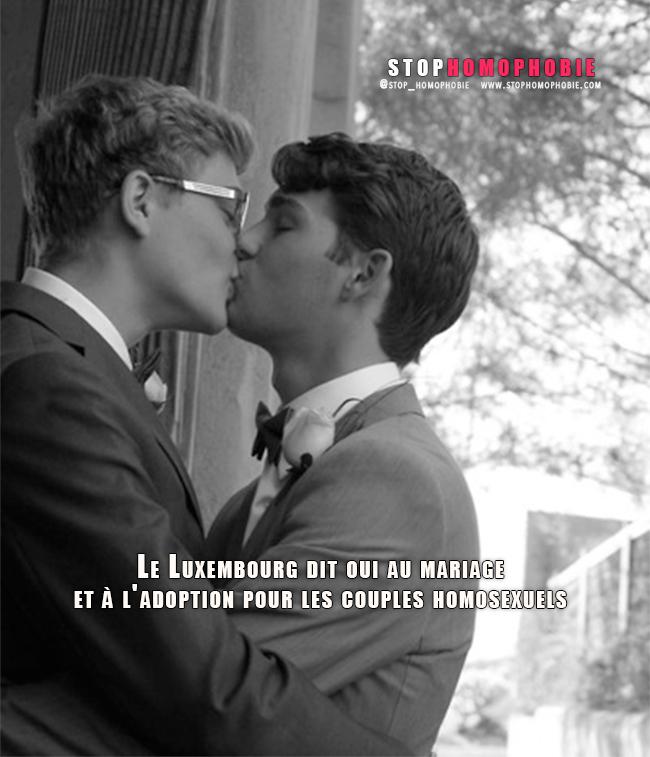 Le Luxembourg dit oui au mariage et à l'adoption pour les couples homosexuels