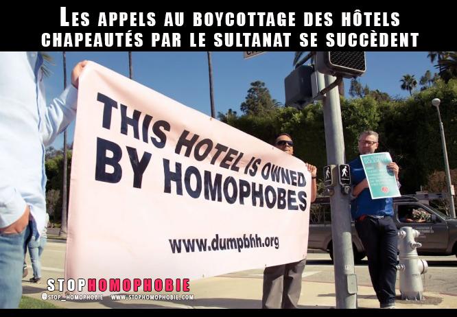 Charia, lapidation, homophobie : Les appels au boycottage des hôtels chapeautés par le sultanat se succèdent
