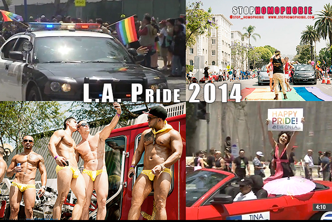 Los Angeles Pride : Plus de 400.000 personnes pour célébrer la diversité ce dimanche, en soutien à la communauté #LGBT