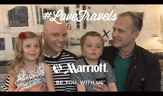 VIDEO. La nouvelle campagne très #friendly du Marriott